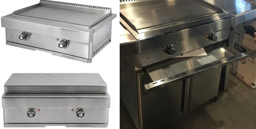 Turbo Grills 32-Inch Built-In Natural Gas Teppanyaki
