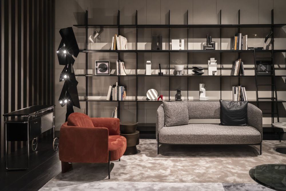 Fill a Wall With Minimalist Shelving