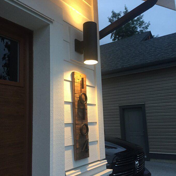 15 Best Modern Outdoor Sconces To, Modern Garage Sconce Lights