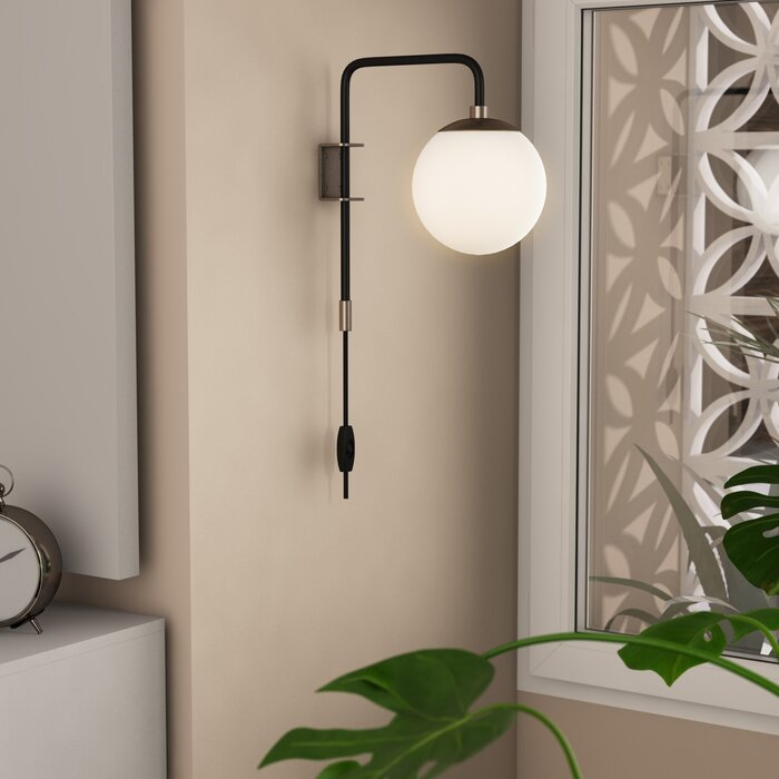 Simple Wall Lamps You Can Just Plug In And No Electrician Required
