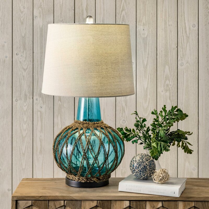 Use Table Glass Lamps to Create High Impact in Your Home