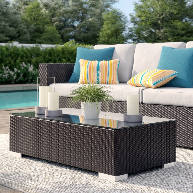 A Patio Coffee Table Is The New Must Have For The Backyard