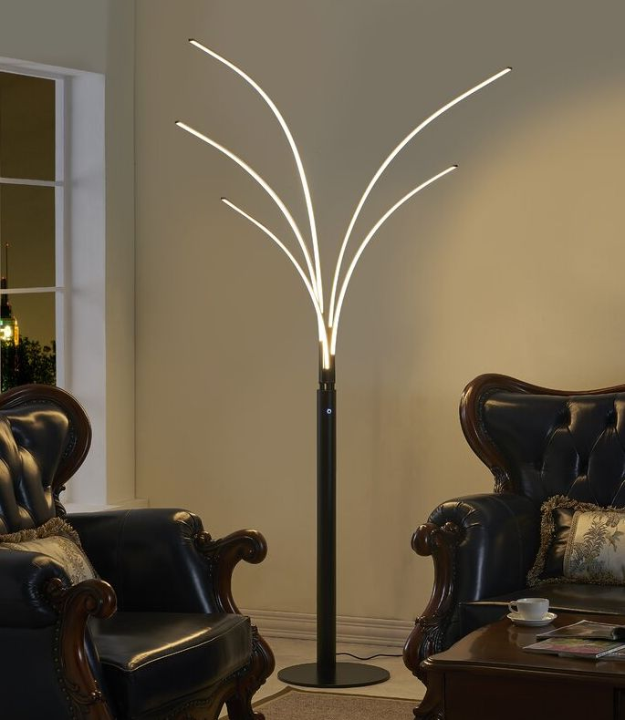 14 Modern Tree Floor Lamps To Brighten Up Any Room