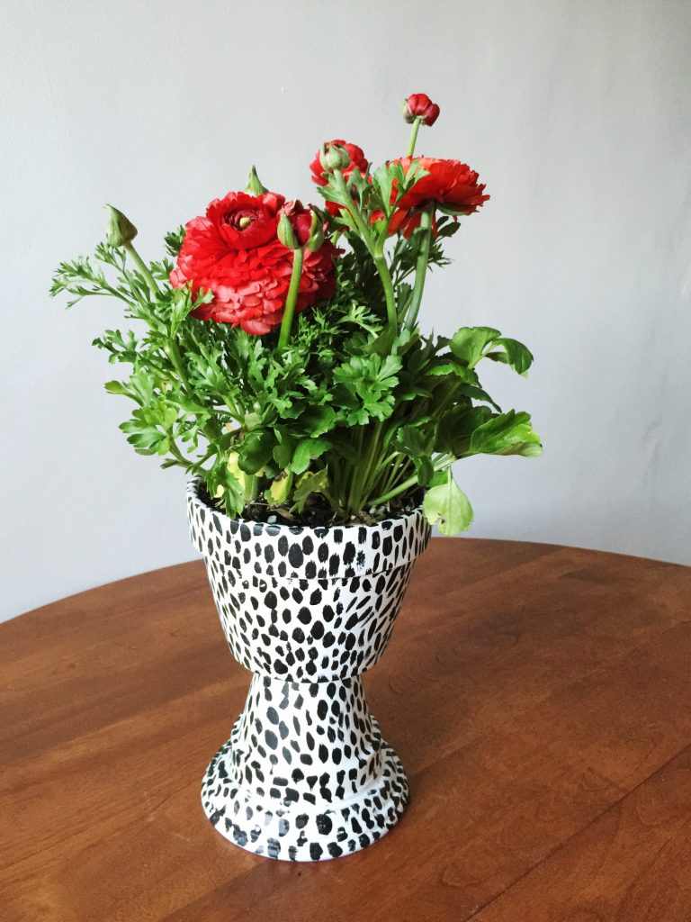 planter box ideas DIY Pedestal Planter Urn