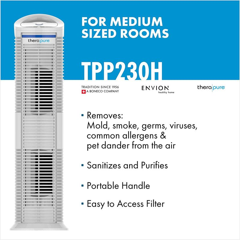 Improve The Air Quality In Your Home With Therapure Air Purifiers