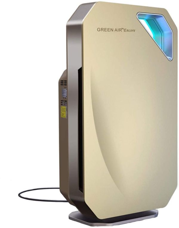 Green Air Encore HEPA and Odor Fighting Filter Air Purifier with IonCluster Technology 1000 sq. ft.