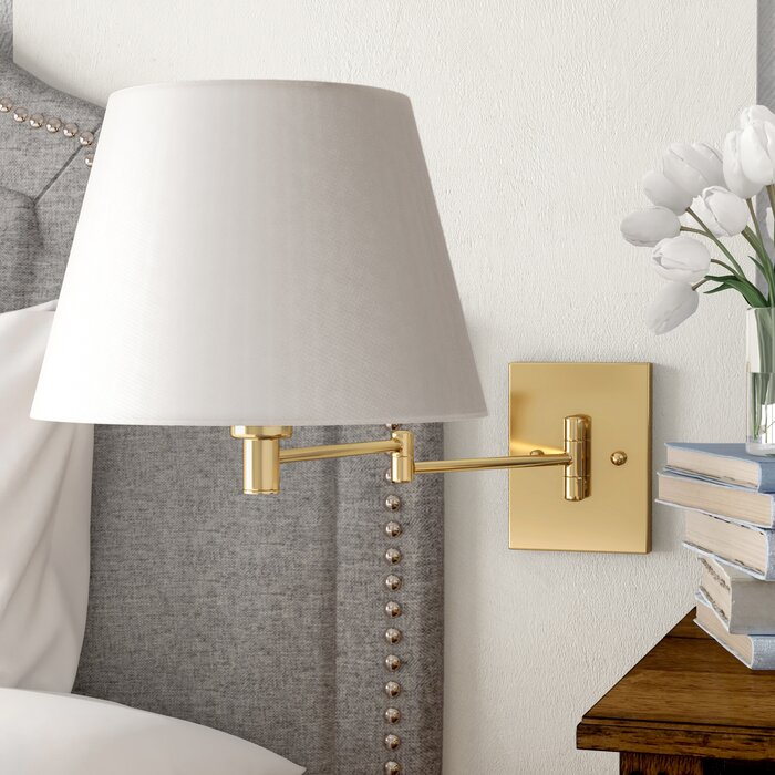 Swing Arm Wall Lamp Add Both Style And, Wall Swing Arm Lamps Bedroom