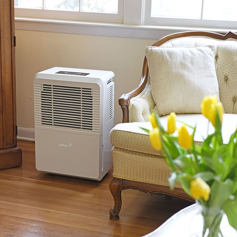 Ivation 4,500 Sq Ft Large-Capacity Energy Star Dehumidifier