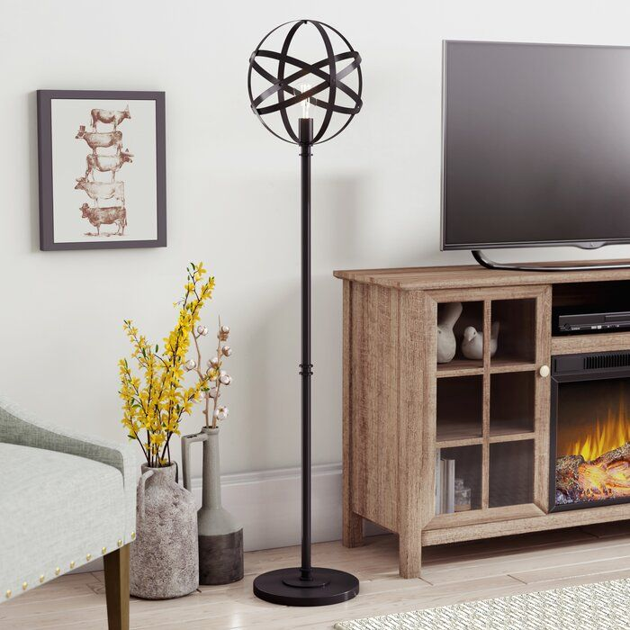 The Popular Industrial Style Decor Start With A Floor Lamp