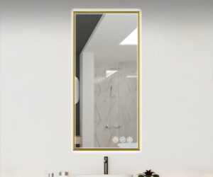 Save Space and Energy with A Bathroom Wall LED Mirror
