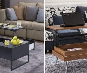 21 Lift-Top Coffee Tables That Surprise You In The Best Way Possible