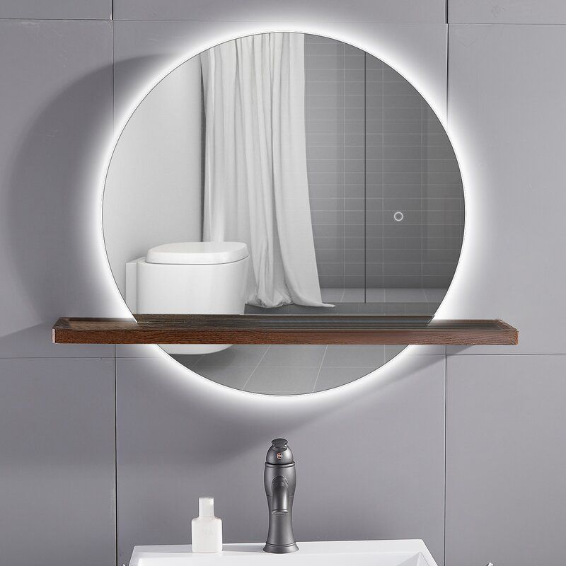 Save Space And Energy With A Bathroom Wall Led Mirror 954bartend Info