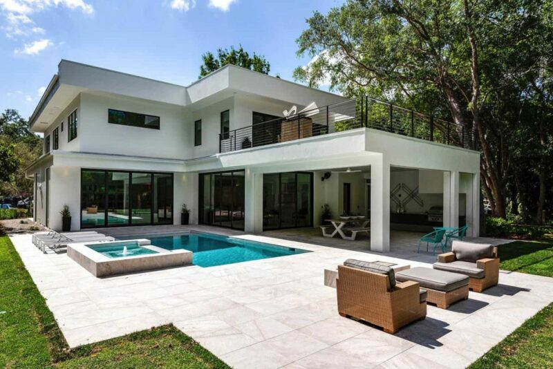 Modern Florida Home is a Stunning Retreat Among the Wetlands