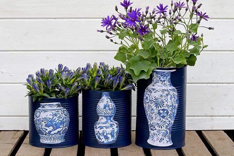 planter box ideas Oriental Vase Flower Pots