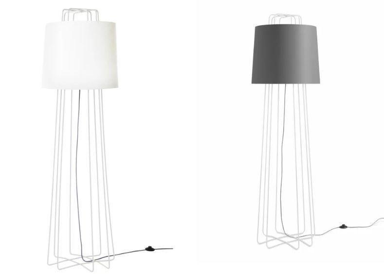 "Swader Slim 69"" Novelty Mid-Century Floor Lamp"