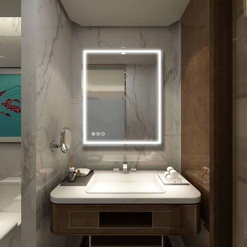 Bathroom Wall LED Mirror