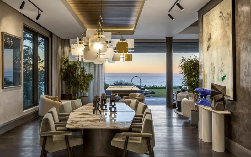 Gorgeous Five-Story Penthouse With A Sophisticated Interior Decor
