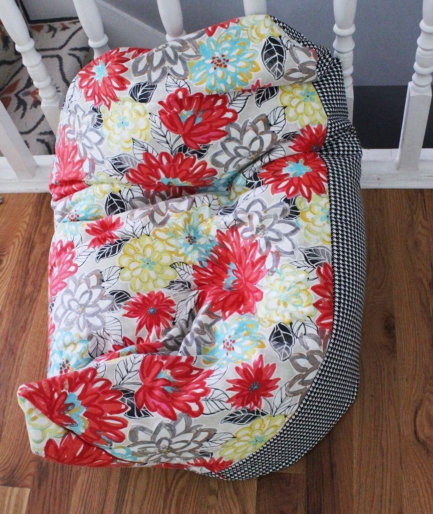 Super Simple DIY Kids Bean Bag Chair