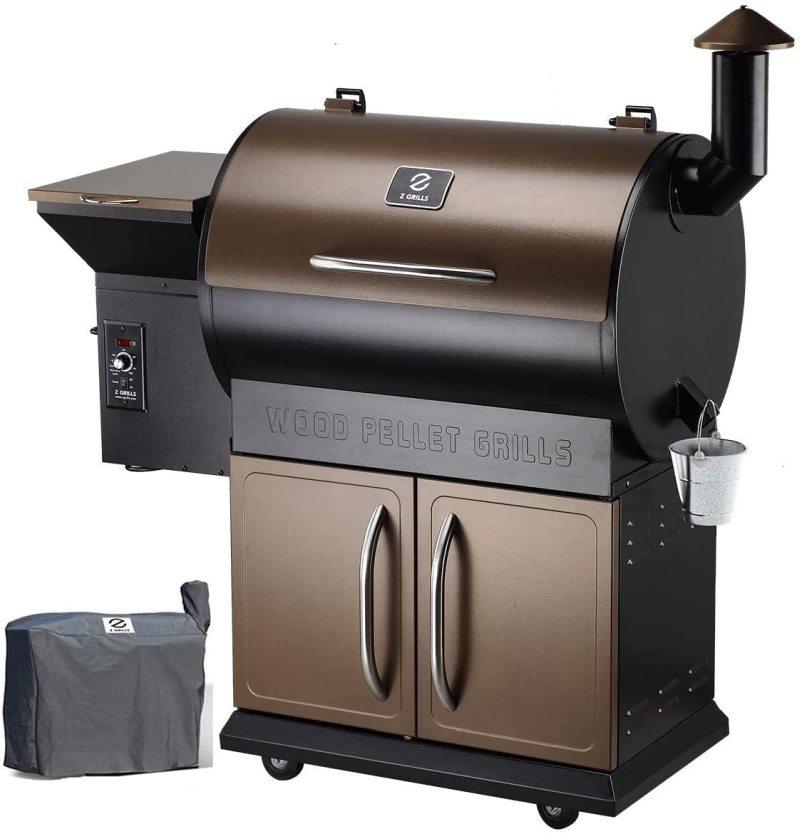 Z Grills Wood Pellet Grill Smoker