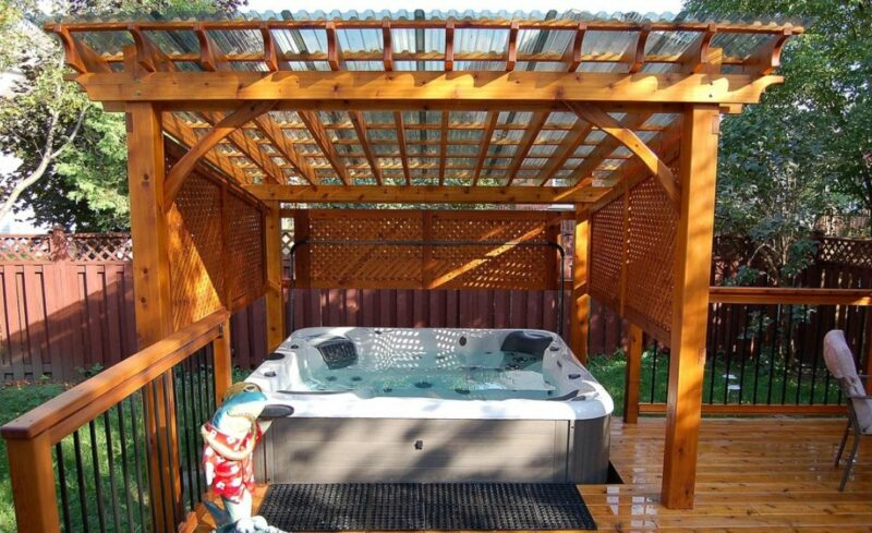 Inspiring Ideas For Beautiful Hot Tub Enclosures And Decors
