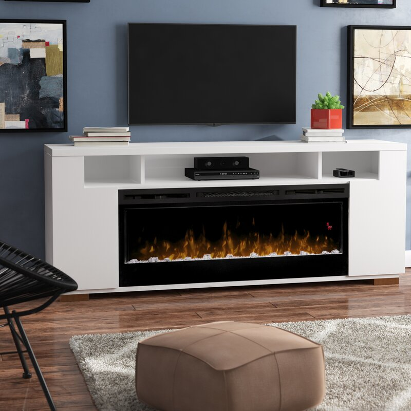 The Key To A Cozy Living Is To Achieve An Entertainment Center with Fireplace