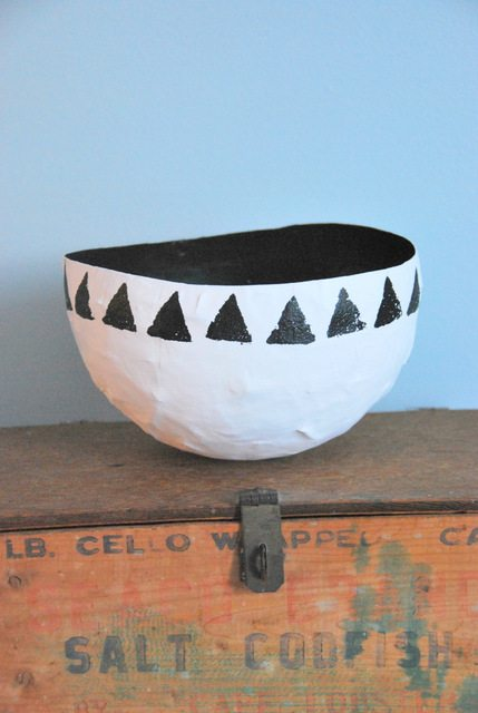 How To Make A Beautiful Paper Mache Bowl Out Of Old Newspaper