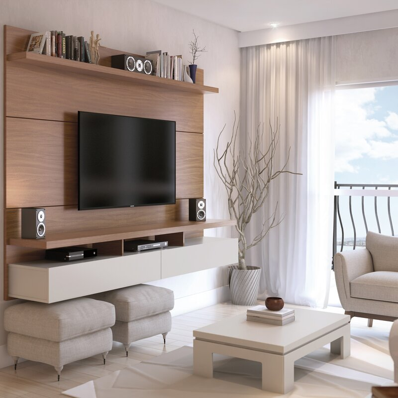 Create The Perfect Living Room Spot With A Modern Entertainment Center