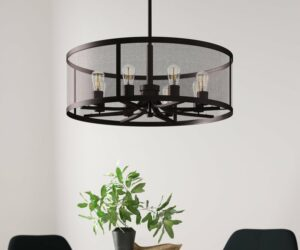 The Glamour and Sheer Exuberance Of A Drum Chandelier for Your Home
