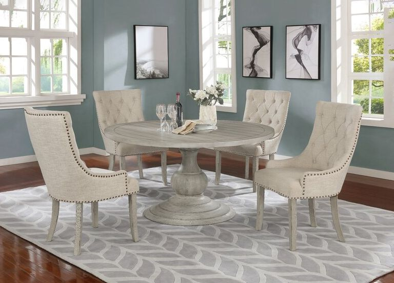 Round Dining Table Sets, Round Dining Room Table And Chairs