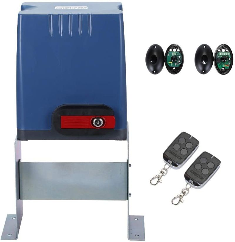 GATEXPERT Sliding Gate Opener with Remote Controls & Security Photocell