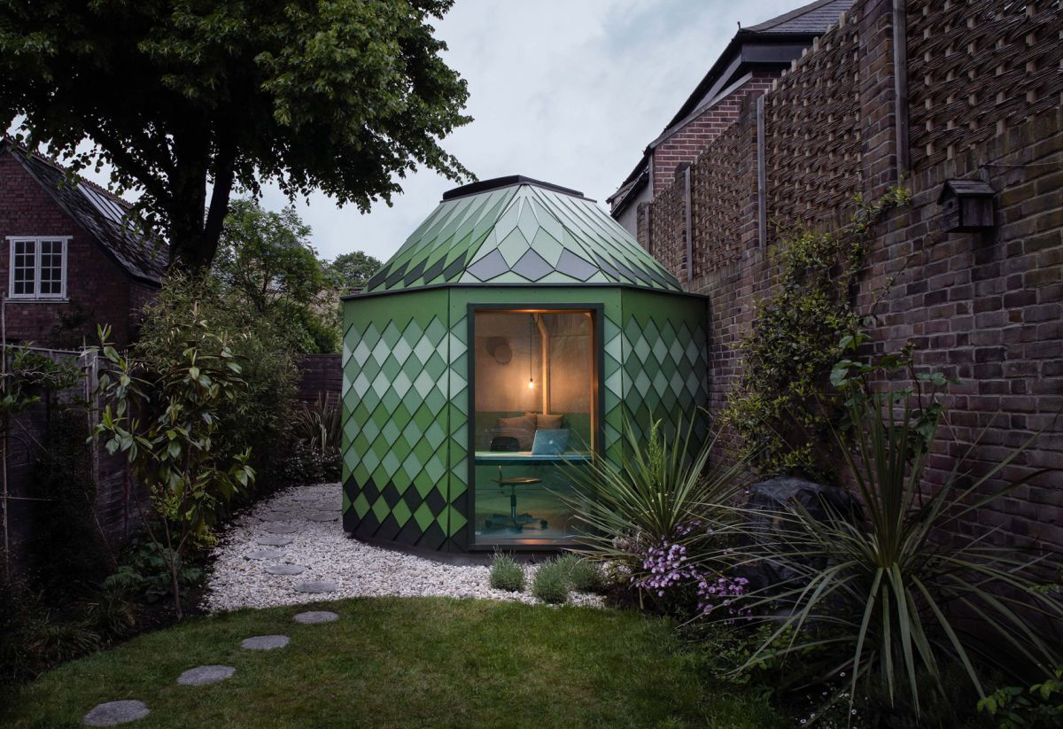 9 Small Garden Offices With Modern And Inspiring Designs