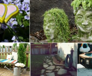 17 Wonderful DIY Projects For The Outdoors