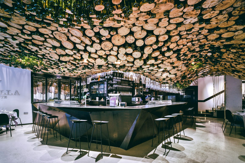 Beautiful Ceiling Installations With Sophisticated And Sculptural Designs