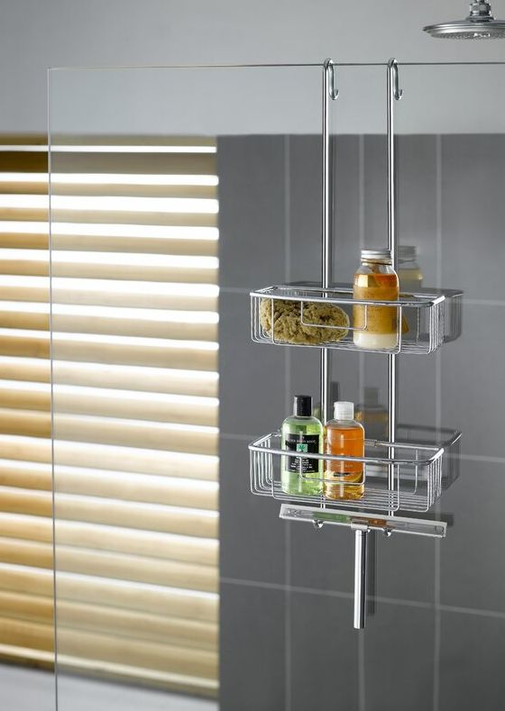 Keep Your Bathroom Tidy With Shower Organizers