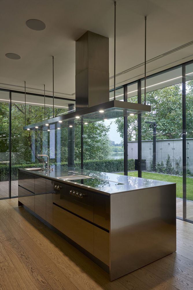 The interior design is generally very simple and has a clean and contemporary aesthetic