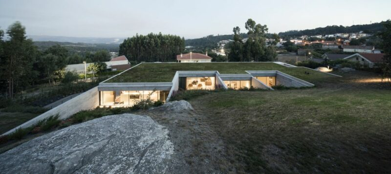 A Gorgeous Tiered House That Becomes One With The Slope