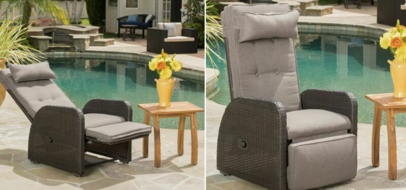 Take Your Patio Space To The Next Level With Reclining Chairs