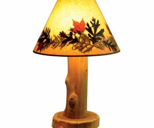Bring Earth Tones Indoor With Wooden Table Lamps