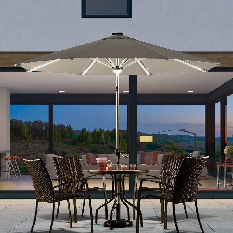 Brighten Up Your Patio Nights With The Best Umbrella Lights