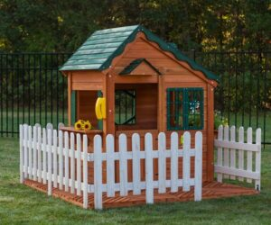 35 Pimped Out Playhouses Your Kids Need In The Backyard
