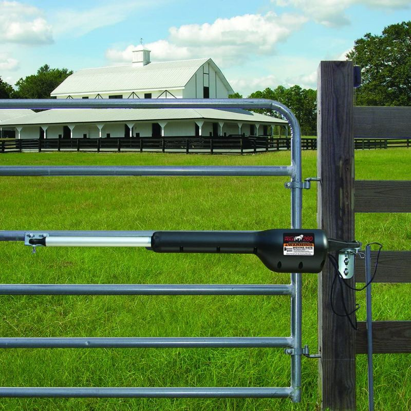 Mighty Mule Automatic Gate Opener for Light Duty Single Swing Gates Up