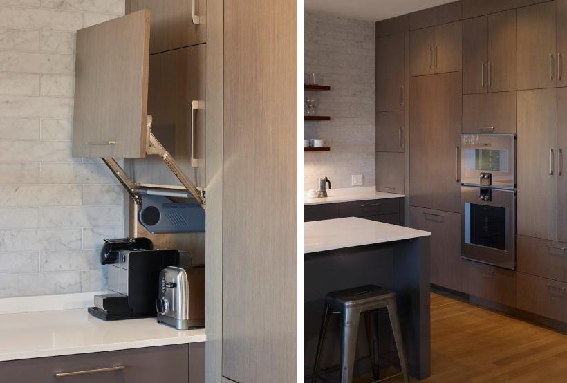 Stylish Ways To Add An Appliance Garage, Small Appliance Garage