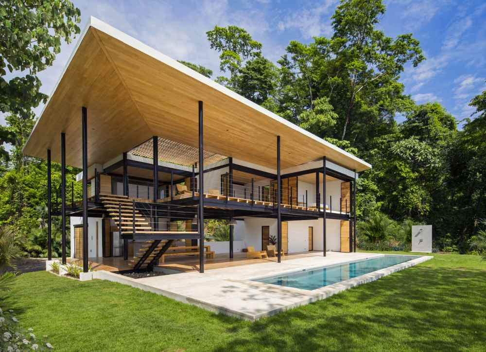 10 Beautiful House Designs from Tropical Costa Rica