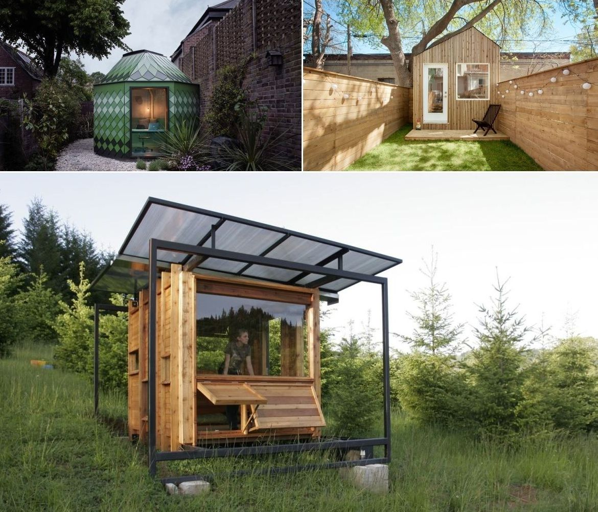10 Small Garden Offices With Modern And Inspiring Designs