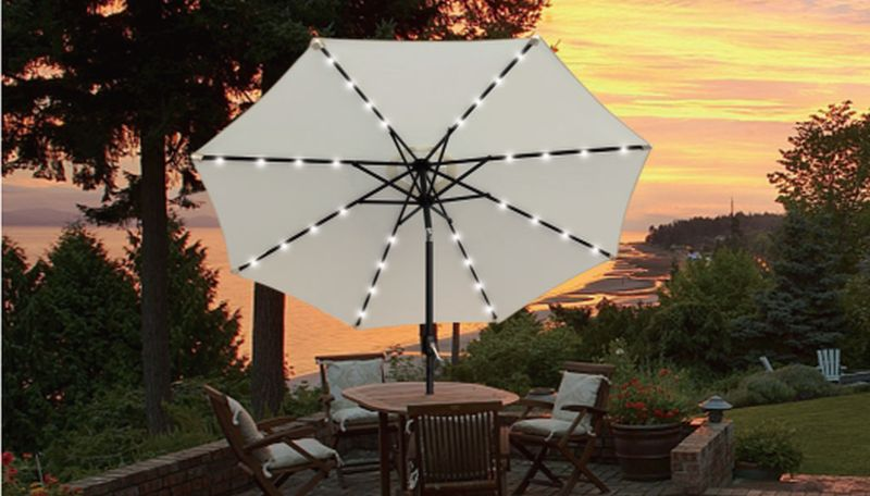 Brighten Up Your Patio Nights With The Best Umbrella Lights Best Children's Lighting & Home Decor Online Store