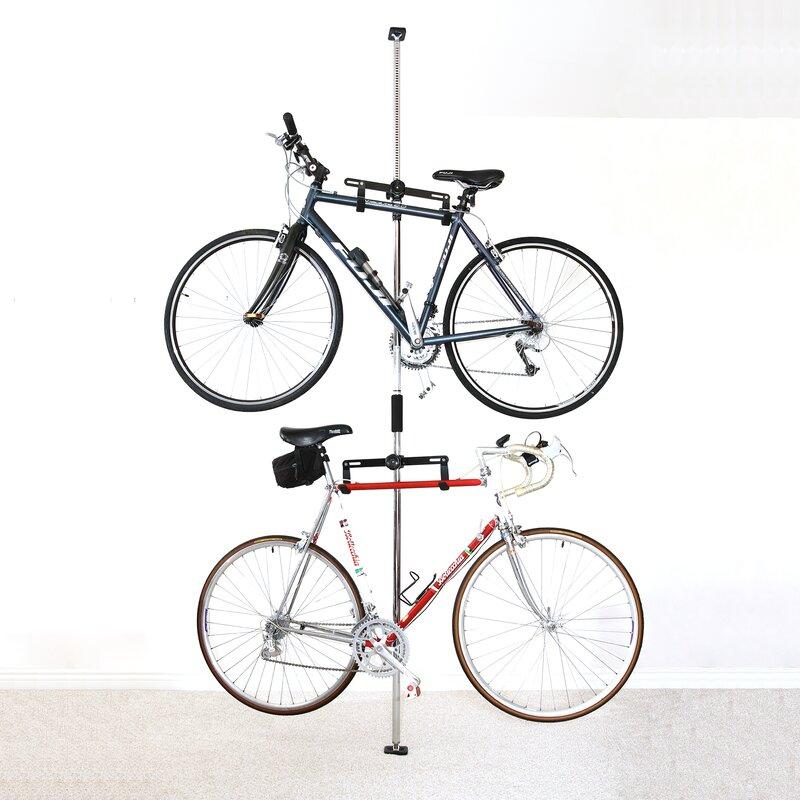 Q-Rak Floor to Ceiling Freestanding Bike Rack