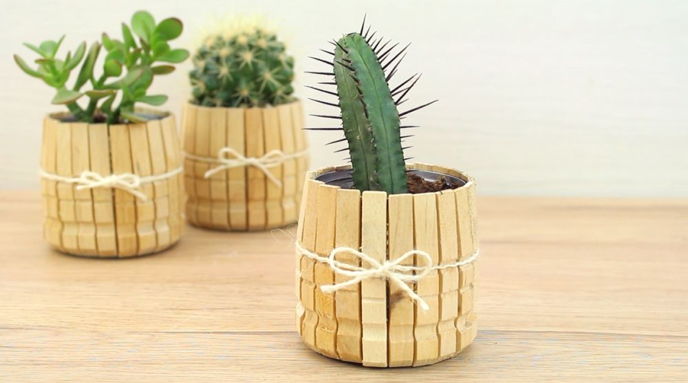 Easy and Creative Crafts That You Can Do With Wooden Clothespins