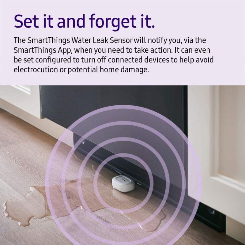 Samsung GP-U999SJVLCAA Smart Things Water Leak Sensor