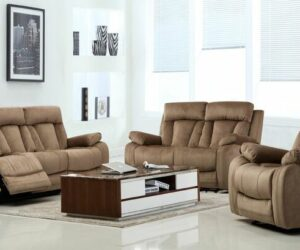 Complement The Style And Decor With A Comfortable Recliner Sofa Set