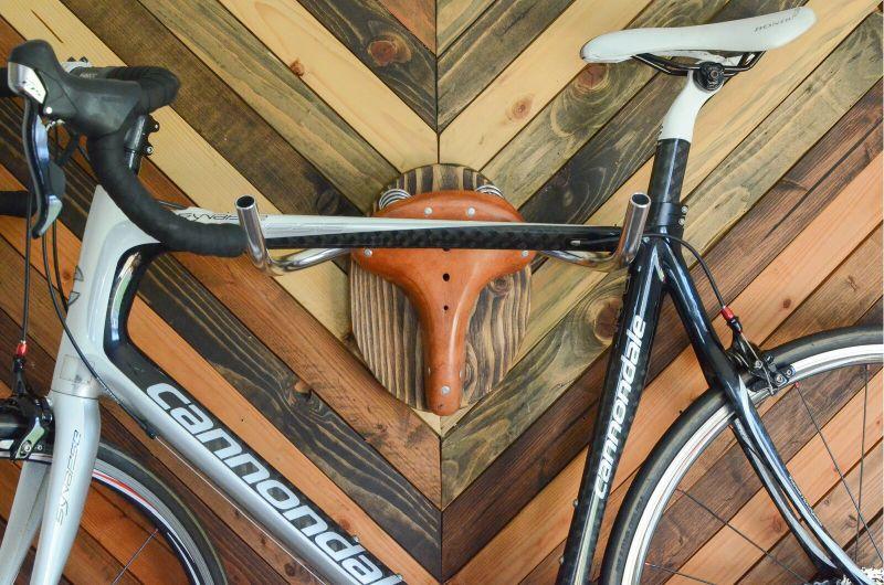 "BT-H Taxidermy ""the Highland"" Wall Mounted Bike Rack"
